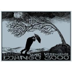 Gigposter - DJANGO 3000