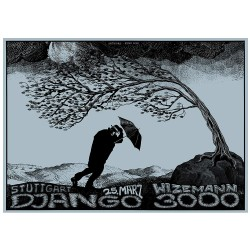 Konzertposter - DJANGO 3000