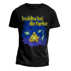 T-Shirt - Buddha bei die...