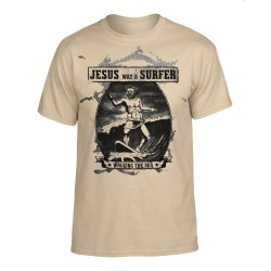T-Shirt - Jesus was a Surfer - Front