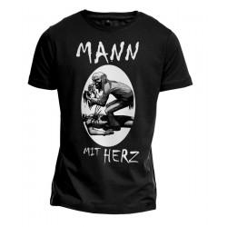 T-Shirt - Mann mit Herz