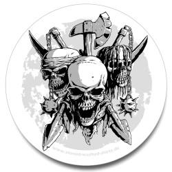 Sticker - Skulls & Arms