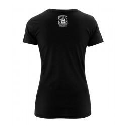 Ladyshirt - Antichrist Cat - Rückseite
