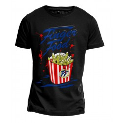 Vorderseite T-Shirt Finger Food