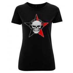 Ladyshirt - Anarchy Skull