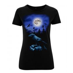 Ladyshirt - Raven - Front