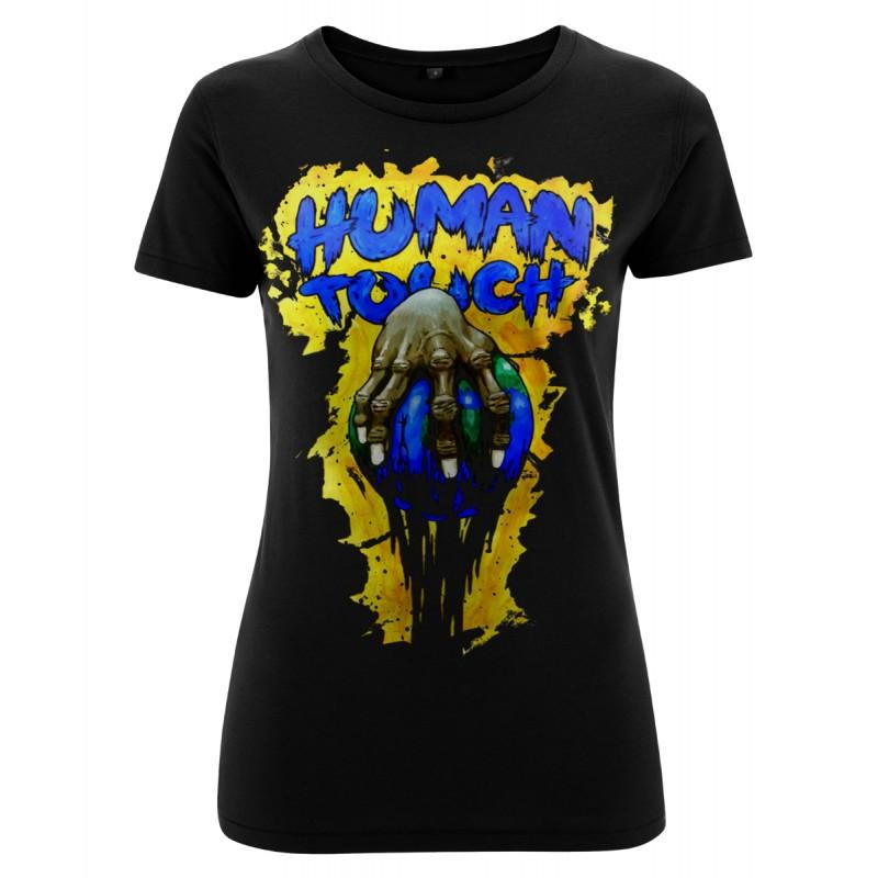 Ladyshirt - Human Touch - Vorderseite
