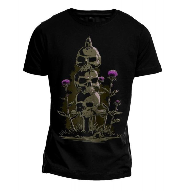 T-Shirt - Scottish Totem - Vorderseite