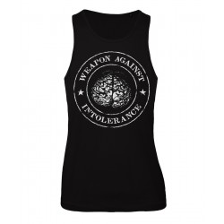 Tank Top - Weapon Against Intolerance - Front