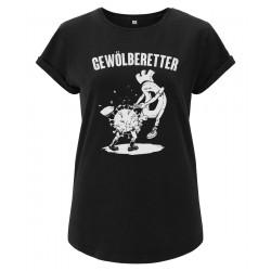 Rolled Sleeve Ladyshirt -...