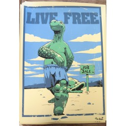 Poster - Live Free