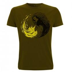 T-Shirt - Ying & Yang Rasta