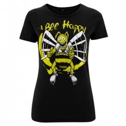Ladyshirt - Bee Happy