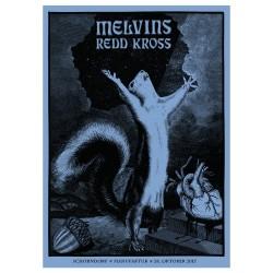 Gigposter - MELVINS & REDD...