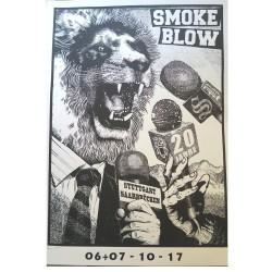 Gigposter - SMOKE BLOW