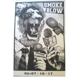 Konzertposter - SMOKE BLOW